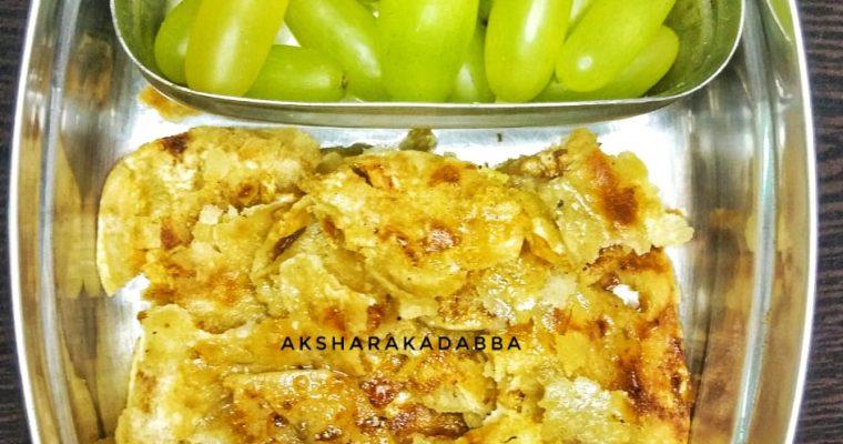 Chur Chur Sweet Paratha – Quick Lunchbox Ideas For Toddlers